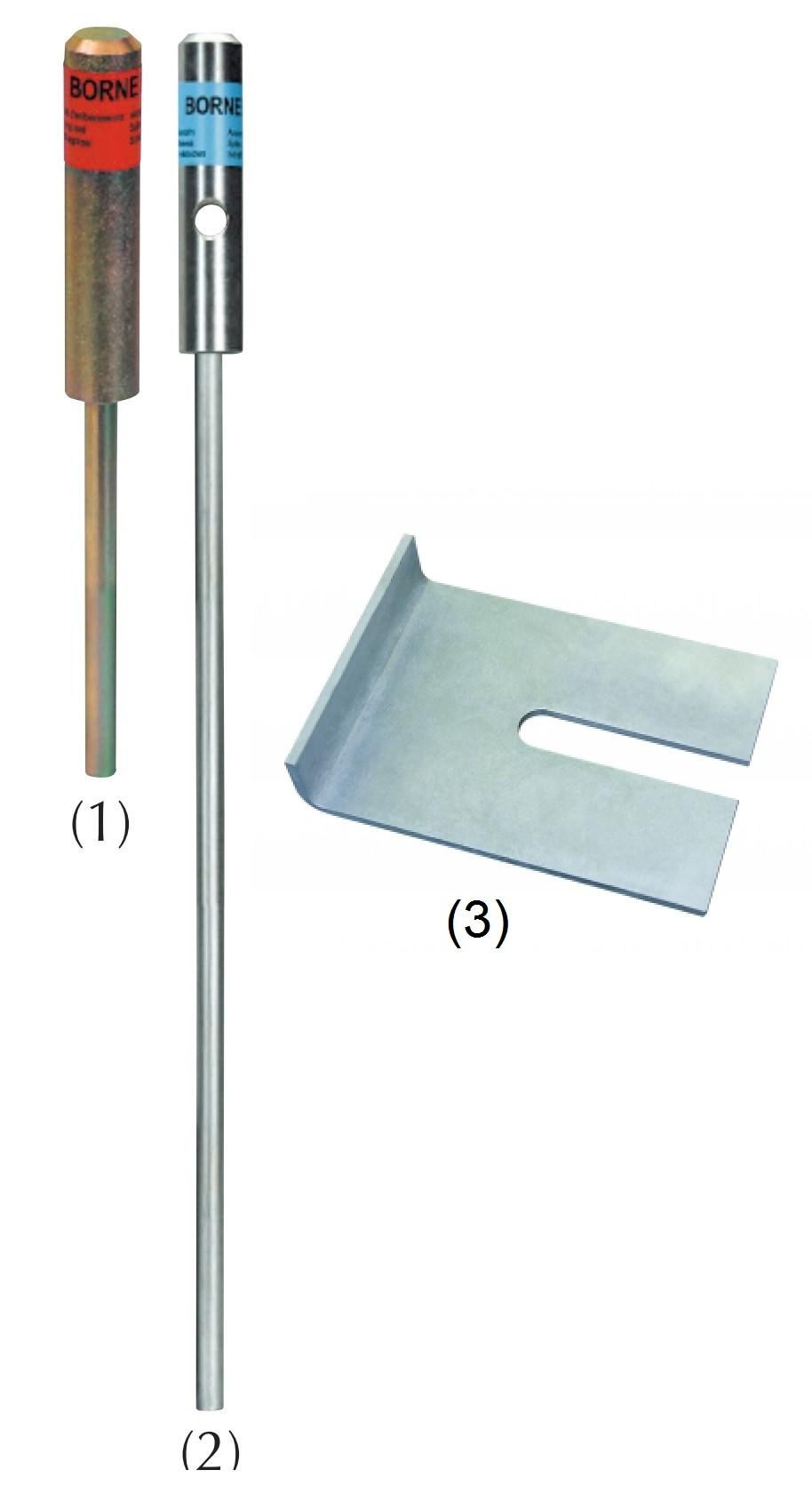 Outils pour pose d'Amarres à percussion avec bracket