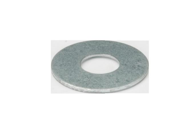 rondelle plate zinguée