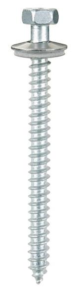 Vis inox TH autotaraudeuse pour support acier de 1.5 à 4 mm