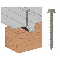 Vis Th AT bac support d'étanchéité sur bois