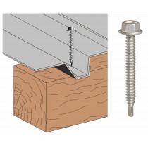 Vis Th P1 bac support d'étanchéité sur bois