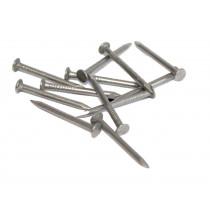 Pointes acier 2x25mm pour clip lambris