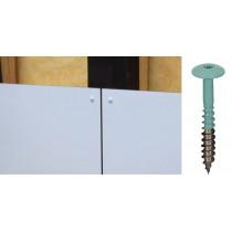 Vis inox TCB laquée de couleur pour Panneaux de façade