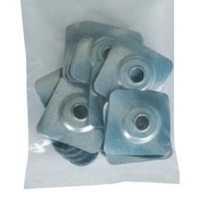 plaquettes avec rondelles pour plaques fibro-ciment