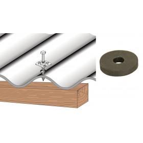 Rondelle d'étanchéité néoprène pour plaque couverture fibres-ciment et PST