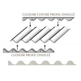 Closoir mousse pour plaques fibres-ciment GO 177x51