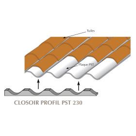 Closoir mousse pour plaques sous tuiles PST 230