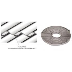 Joint d'étanchéité butyl Ø9.5 pour couverture plaque fibres-ciment
