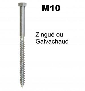 Tirefond M10