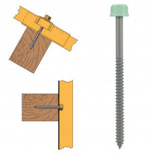 Vis têtalu autotaraudeuse de réparation pour panne bois