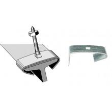 Agrafe galvanisée pour poutrelle métallique