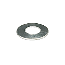 Rondelle plate inox