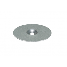 Rondelle plate lisse galvanisée Ø25 - Ø40 - Ø70